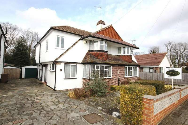 5 Bedrooms Semi Detached House for sale in Willett Close, Petts Wood East