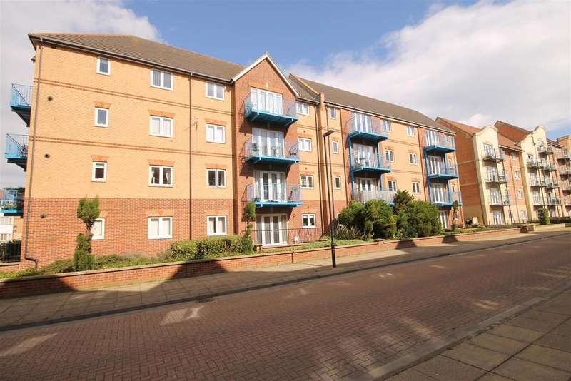 2 Bedrooms Apartment Flat for sale in Chart House, Marina, Hartlepool