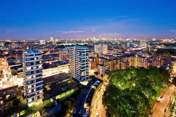 3 Bedrooms Flat for sale in THE QUADRANGLE, MARBLE ARCH, W2