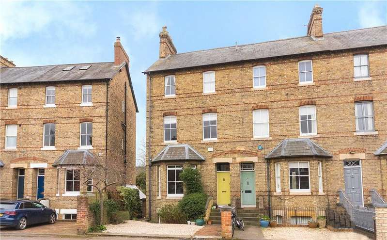 4 Bedrooms Semi Detached House for sale in Tackley Place, Oxford, Oxfordshire, OX2