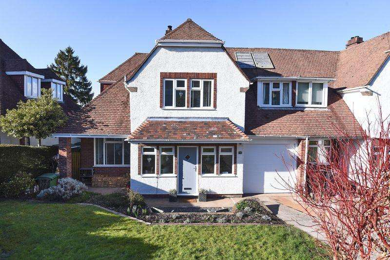 4 Bedrooms Semi Detached House for sale in Eastmead Lane, BS9