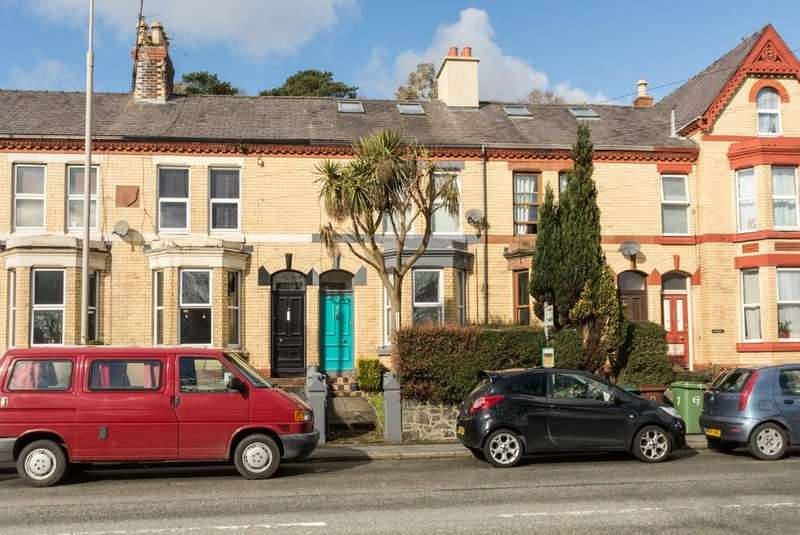 5 Bedrooms Terraced House for sale in Garfield Terrace, Garth Road, Bangor, North Wales