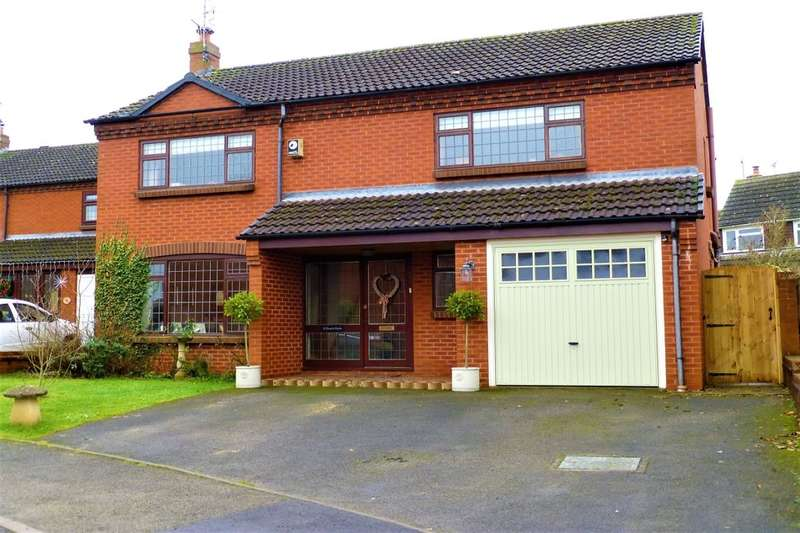 4 Bedrooms Detached House for sale in Worcester Road, Wyre Piddle, Pershore, WR10