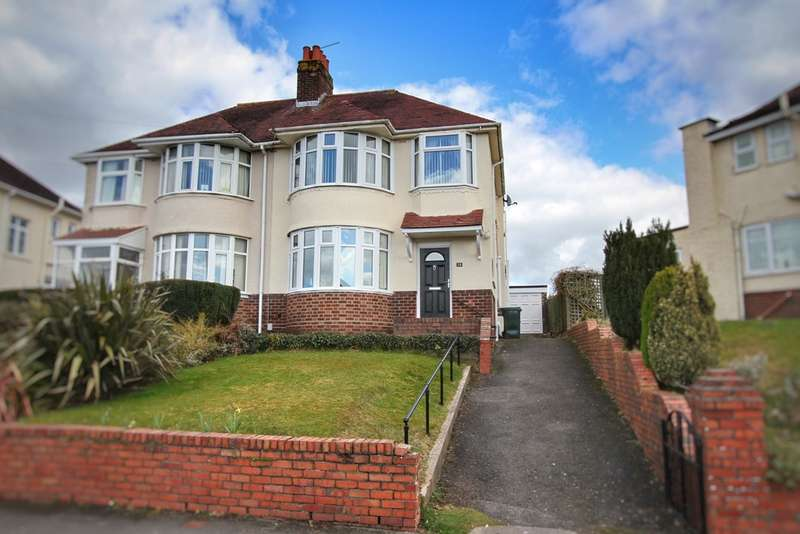 3 Bedrooms Semi Detached House for sale in Ridgeway Avenue, Newport
