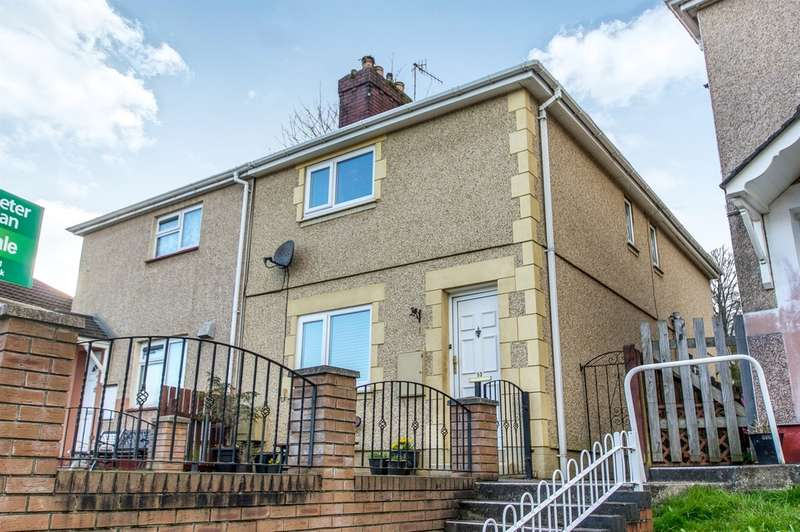 3 Bedrooms Semi Detached House for sale in Wern Terrace, Port Tennant, Swansea