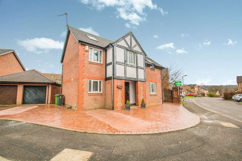 5 Bedrooms Detached House for sale in Ffordd Y Barcer, St Fagans, Cardiff