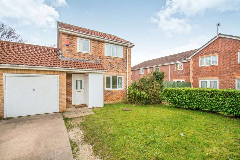 3 Bedrooms Link Detached House for sale in Hornchurch Close, Llandaff, Cardiff