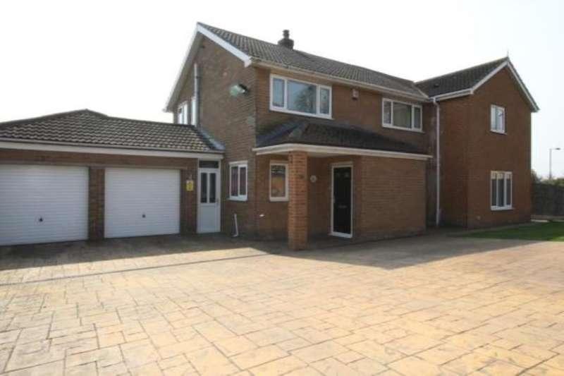 5 Bedrooms Detached House for sale in Hampole Balk Lane, Skellow, Doncaster, DN6