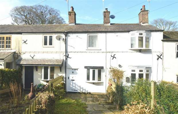 2 Bedrooms Cottage House for sale in Hall Cottages, Langley, Macclesfield, Cheshire