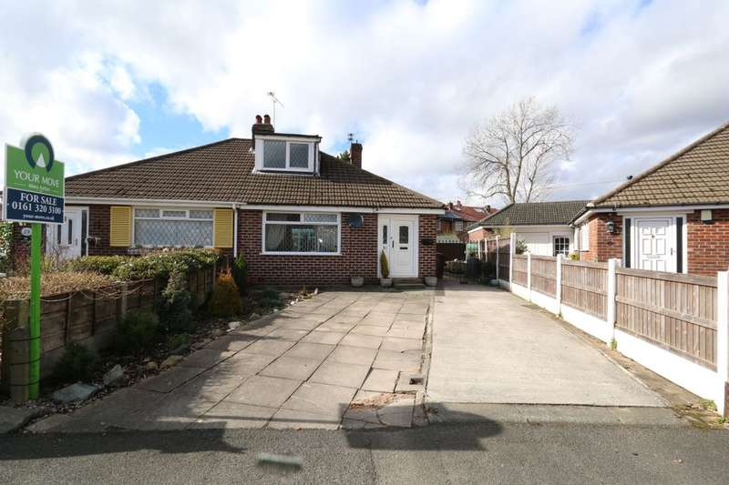 3 Bedrooms Semi Detached Bungalow for sale in Sherwood Road, Denton, Manchester, M34