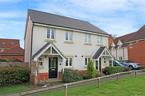 2 Bedrooms Semi Detached House for sale in Wheatsheaf Close, Sindlesham, Wokingham, Berkshire