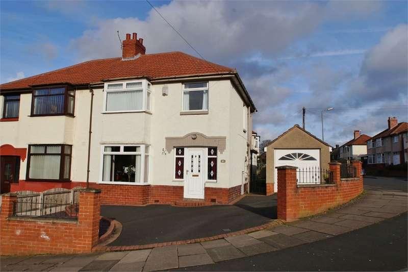 3 Bedrooms Semi Detached House for sale in CA1 2QJ Hillcrest Avenue, off London Road, CARLISLE, Cumbria