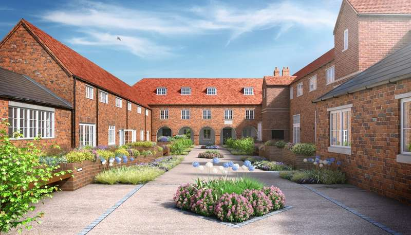 2 Bedrooms Terraced House for sale in Wordsworth Court, Laureate Gardens, Henley-On-Thames, RG9