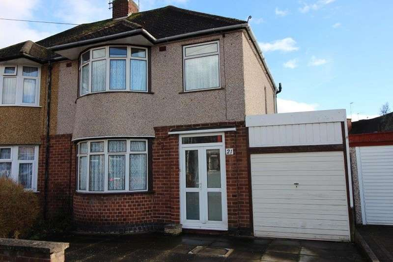 3 Bedrooms Semi Detached House for sale in Franciscan Road, Cheylesmore, Coventry, West Midlands. CV3 6HB
