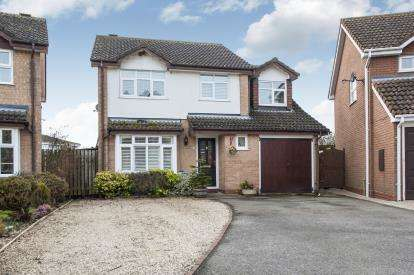 4 Bedrooms Detached House for sale in Goodwood Close, Stratford Upon Avon, Warwickshire