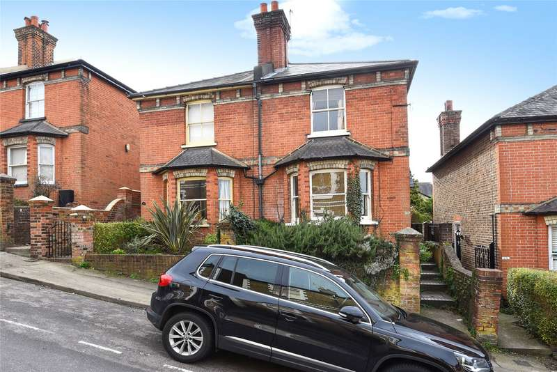 3 Bedrooms Semi Detached House for sale in Cheselden Road, Guildford, Surrey, GU1