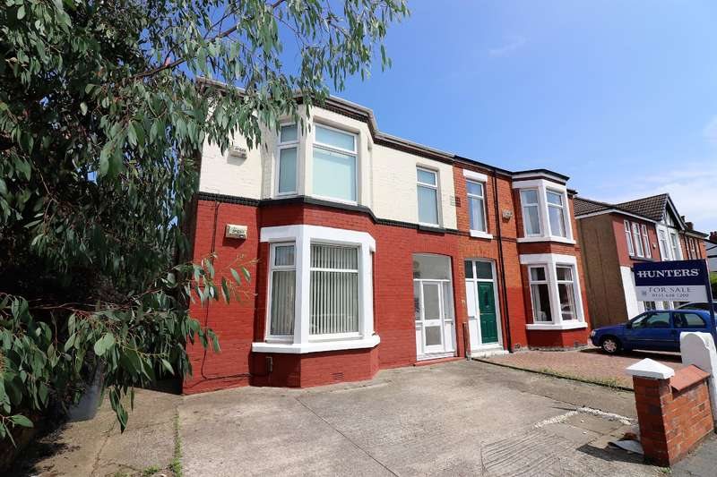 2 Bedrooms Ground Flat for sale in Belvidere Road, Wallasey, CH45 4RY