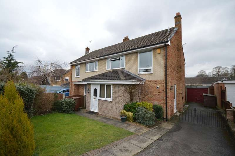 3 Bedrooms Semi Detached House for sale in Mountbatten Avenue, Sandal, Wakefield
