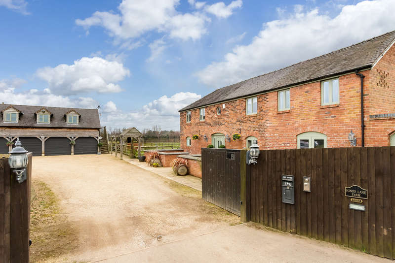 4 Bedrooms Detached House for sale in Kings Lane , Cranage