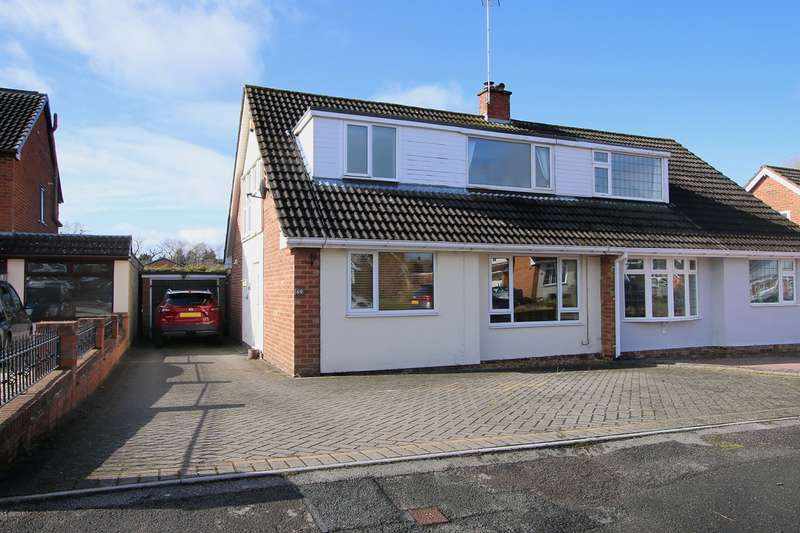 3 Bedrooms Semi Detached House for sale in Milestone Drive, Hagley, Stourbridge, DY9
