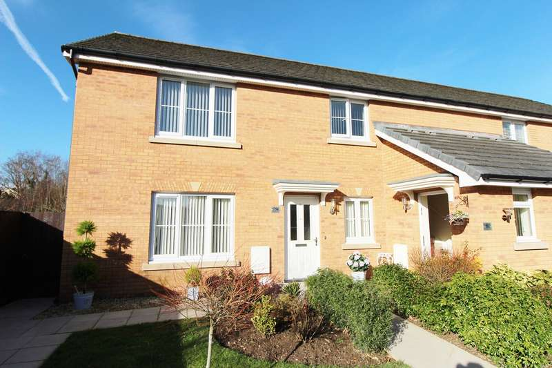 2 Bedrooms Apartment Flat for sale in Rhymney Way, Bassaleg, Newport, NP10