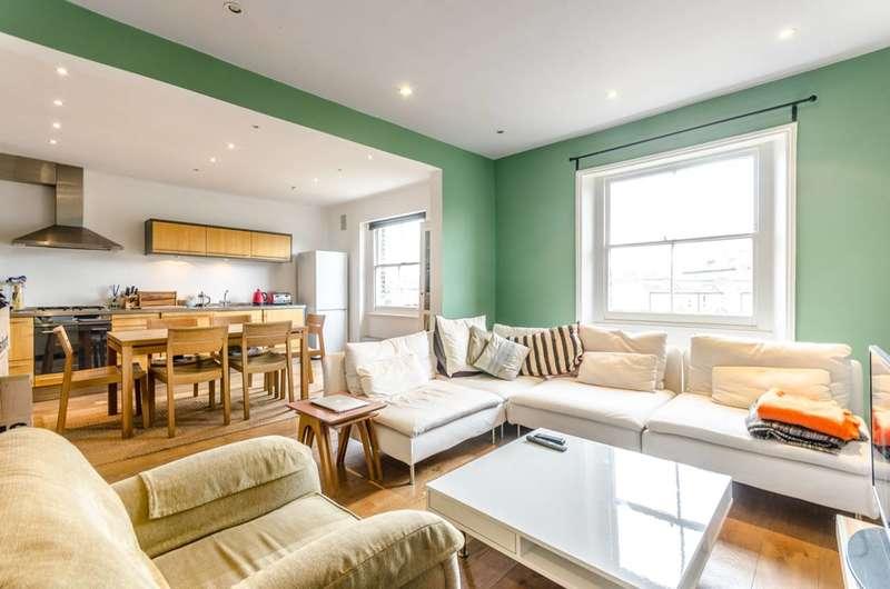 3 Bedrooms Flat for sale in Highbury New Park, Islington, N5