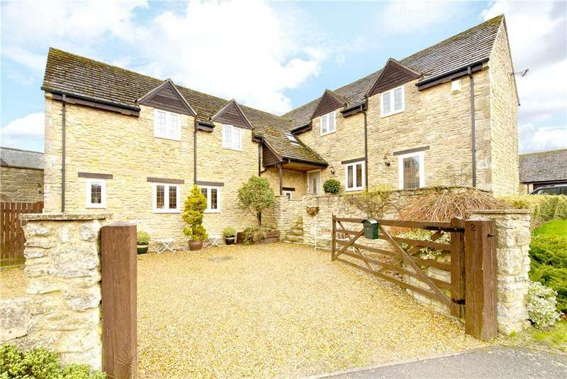 4 Bedrooms Detached House for sale in Lukes Close, Helmdon, Brackley, Northamptonshire