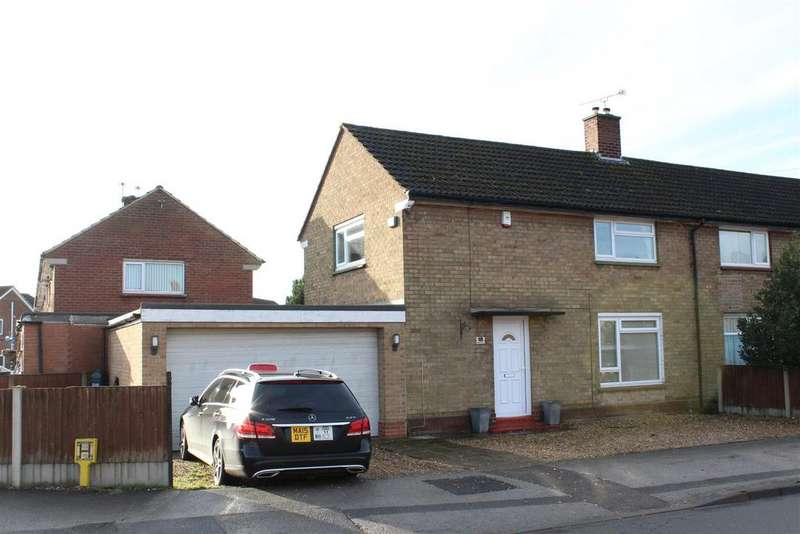 3 Bedrooms End Of Terrace House for sale in Wilfred Avenue, New Balderton, Newark