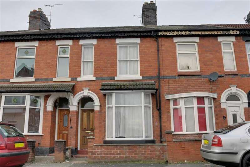 2 Bedrooms Terraced House for sale in Walthall Street, Crewe