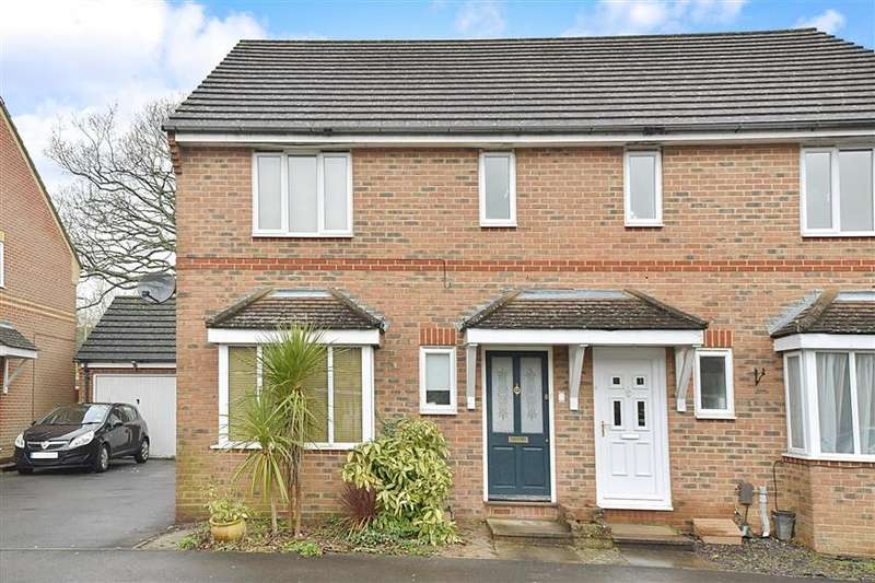 3 Bedrooms Semi Detached House for sale in Caraway, Whiteley, Fareham, Hampshire