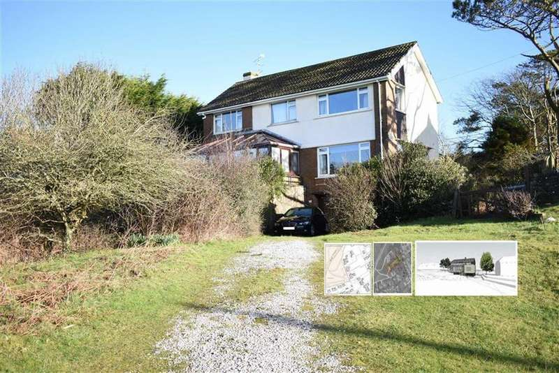 4 Bedrooms Detached House for sale in Pennard Road, Southgate, Swansea