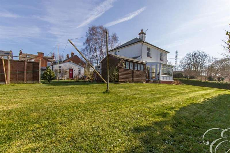 3 Bedrooms Detached House for sale in Shrubland Road, Mistley, Manningtree