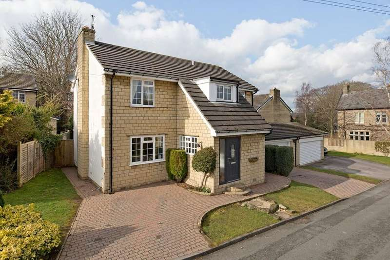 4 Bedrooms Detached House for sale in Stone Dale Close, Pool In Wharfedale