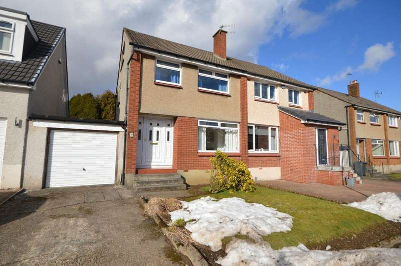 3 Bedrooms Semi Detached House for sale in 100 Muirside Avenue, Kirkintilloch, Glasgow, G66 3PR
