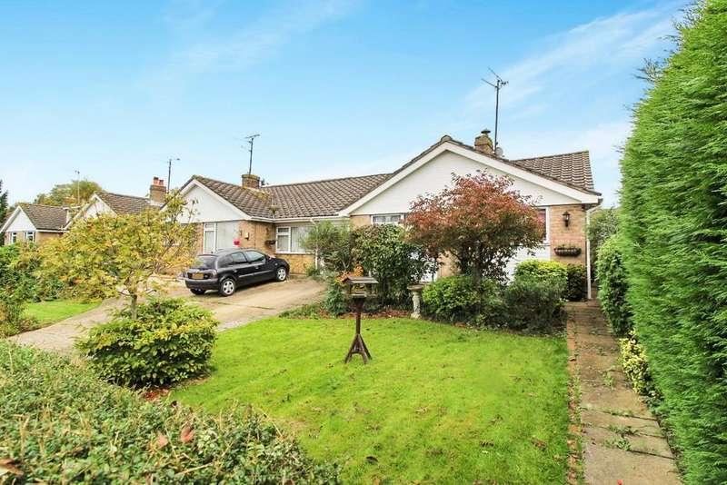 2 Bedrooms Semi Detached Bungalow for sale in Rectory Close , Ashington RH20
