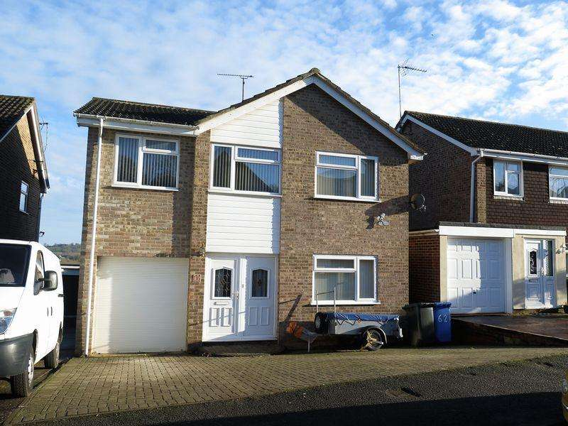4 Bedrooms Detached House for sale in Whimbrel Way, Banbury