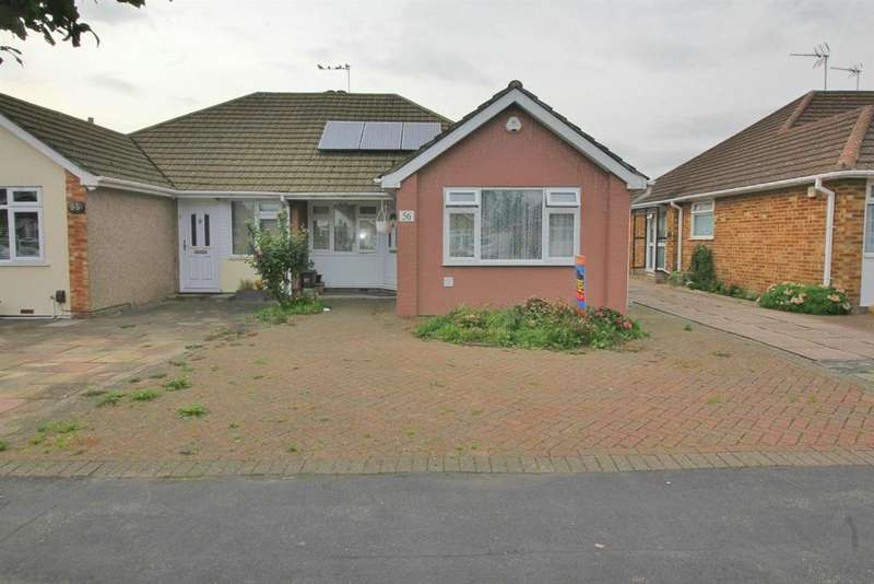 2 Bedrooms Semi Detached Bungalow for sale in Winton Drive, Cheshunt, Herts EN8