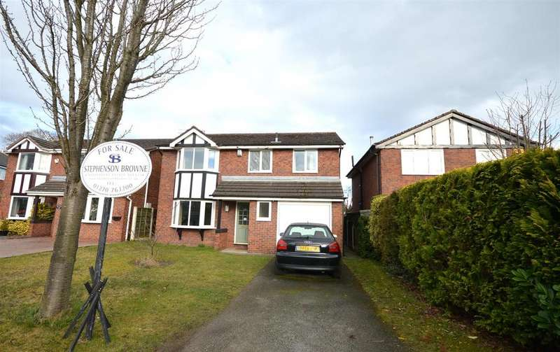 4 Bedrooms Detached House for sale in Sandbach