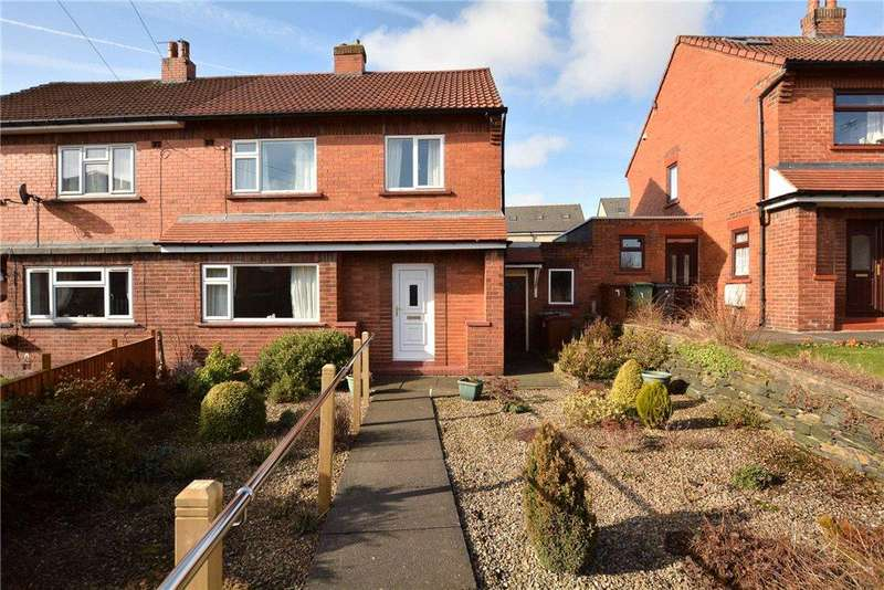 3 Bedrooms Semi Detached House for sale in Westover Gardens, Pudsey, West Yorkshire