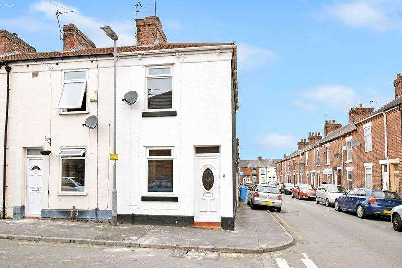 2 Bedrooms End Of Terrace House for sale in Chaucer Street, Runcorn