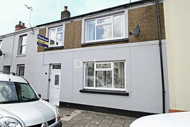3 Bedrooms Terraced House for sale in Church Street, Rhymney