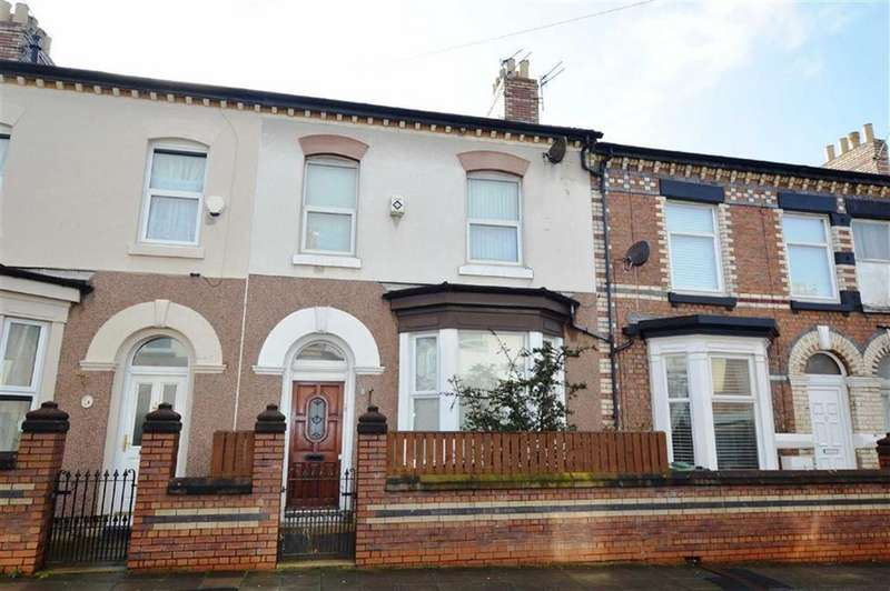 3 Bedrooms Terraced House for sale in Buxton Road, CH42