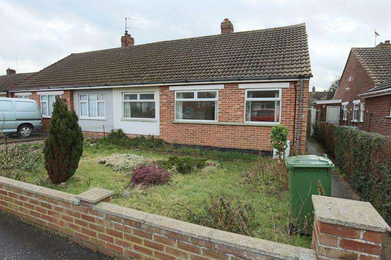 3 Bedrooms Semi Detached Bungalow for sale in Dixon Drive, Oulton Broad, Lowestoft