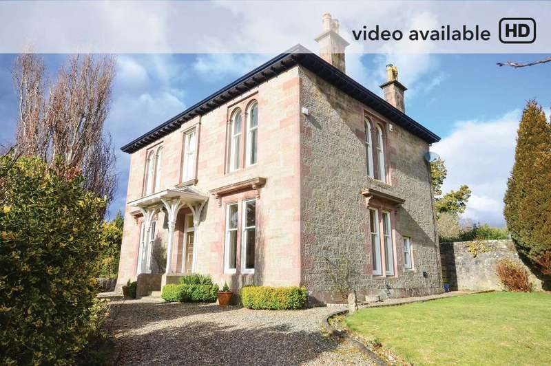 5 Bedrooms Detached House for sale in Glasgow Street, Helensburgh, Argyll Bute, G84 9NW
