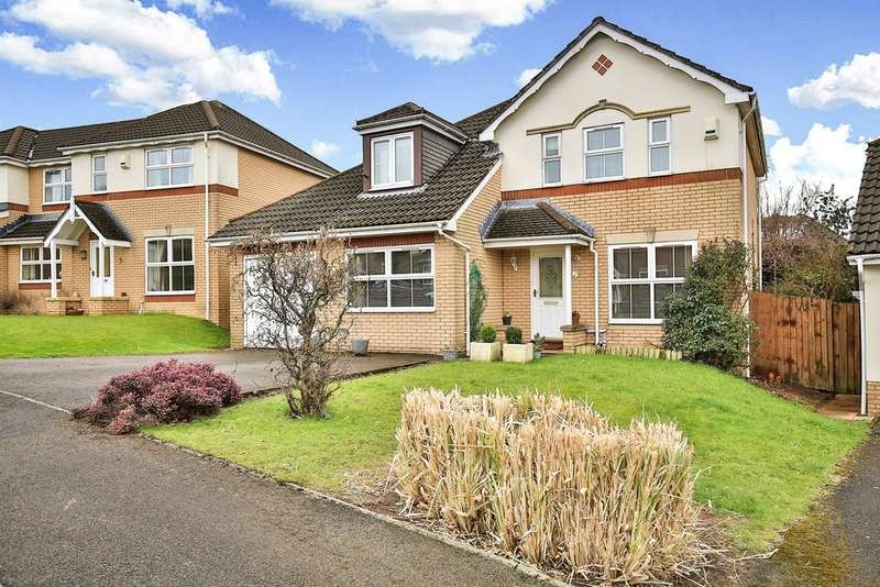 4 Bedrooms Detached House for sale in Ffordd Bodlyn, Cyncoed, Cardiff