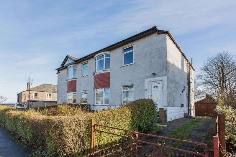 2 Bedrooms Flat for sale in Renshaw Drive, Hillington, Glasgow, G52 2JN