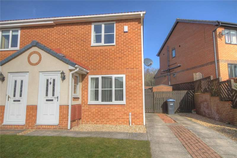 2 Bedrooms Semi Detached House for sale in Hoode Close, Newton Aycliffe, County Durham, DL5
