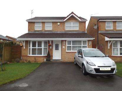 3 Bedrooms Detached House for sale in Chapman Grove, St Helens, Merseyside, Uk, L34