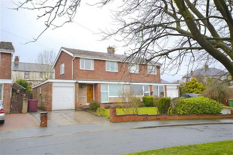 3 Bedrooms Semi Detached House for sale in Newby Close, Burnley, Lancashire