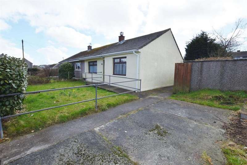 2 Bedrooms Semi Detached Bungalow for sale in Jenkins Close, Haverfordwest